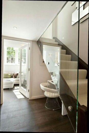 Best Glass Stair Divider Dream House Interior House Interior 400 x 300