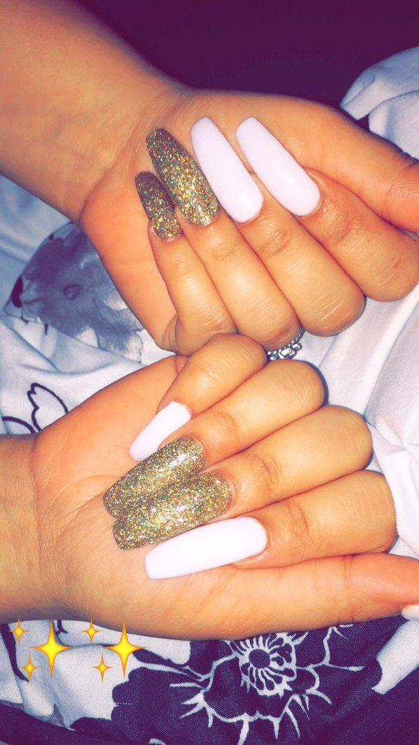 Pinterest: Aishahhxo✨ | nails!! | Pinterest | Nail nail, Coffin ...