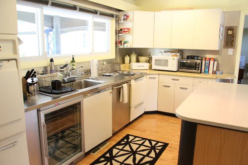 """We decide to renovate and update our 1950s kitchen. Here are the """"before"""" photos."""