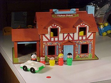 Little People - #80sToys....I still have mine!!!