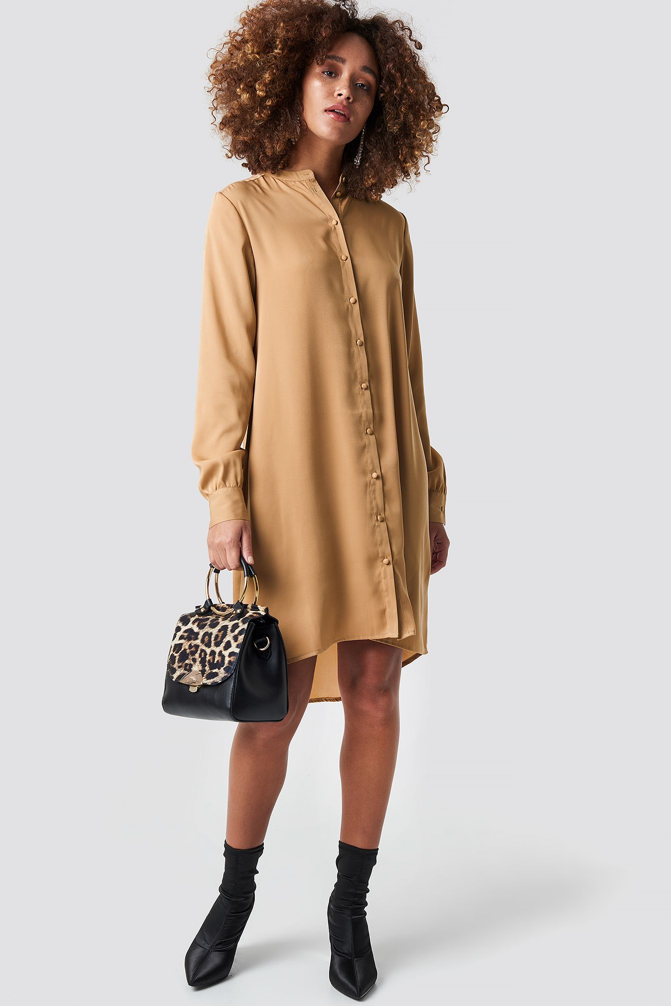 Oversized Shirt Dress in 2020 | Oberhemden, Modestil, Kleidung