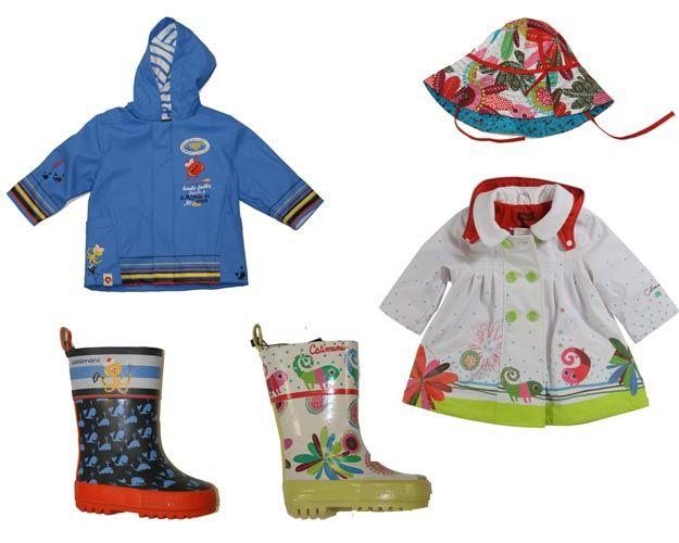 Catimini Spring Rain Coats & Boots For Toddlers: Fun & Funky Rain ...