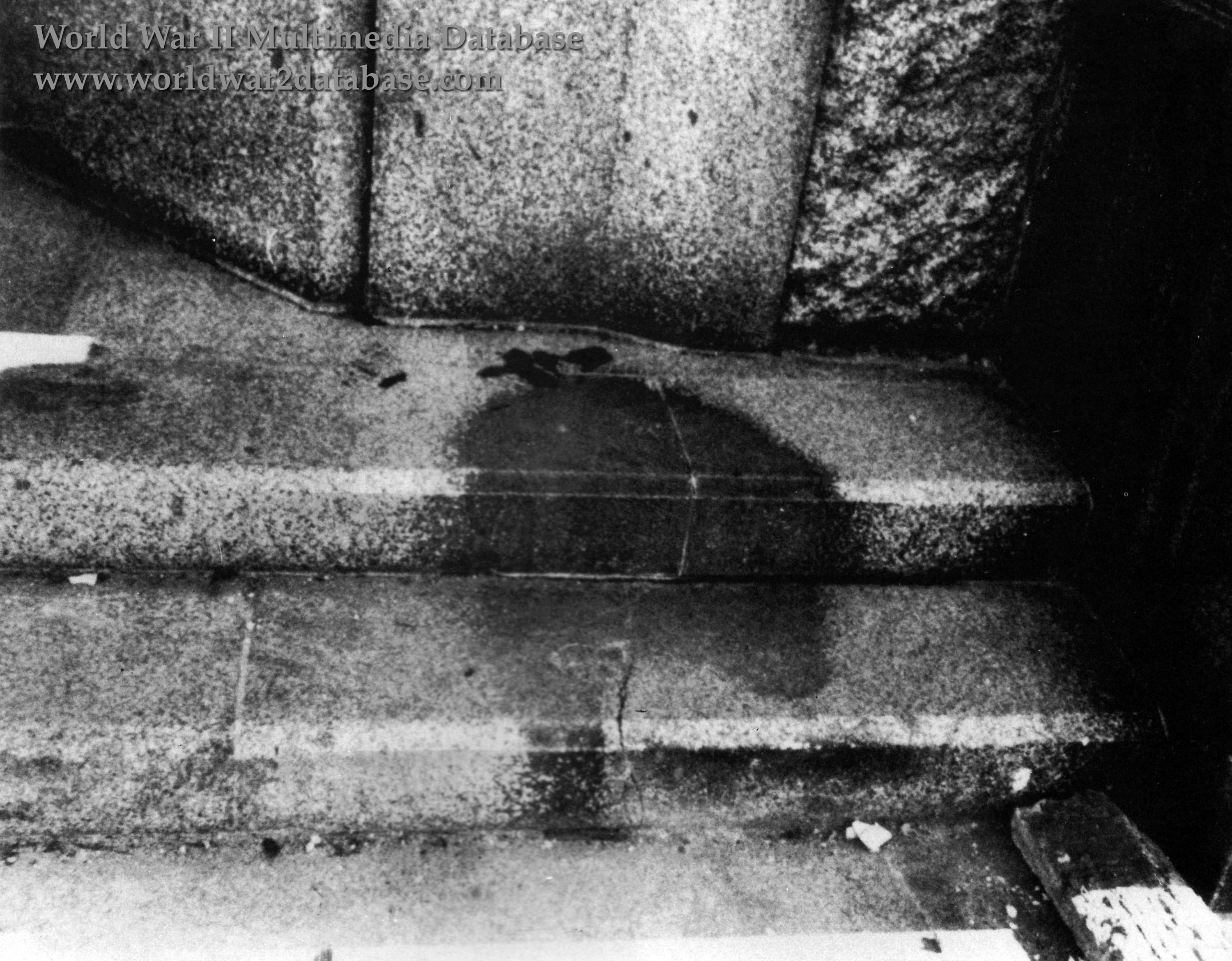 Human Shadow Etched In Stone   The World War II Multimedia ...