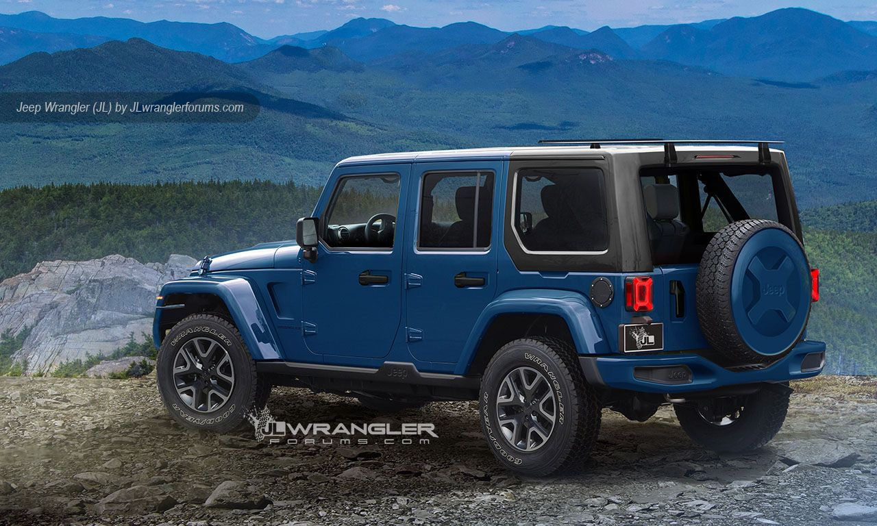 2018 Jeep Wrangler Pickup Jeep wrangler unlimited, New