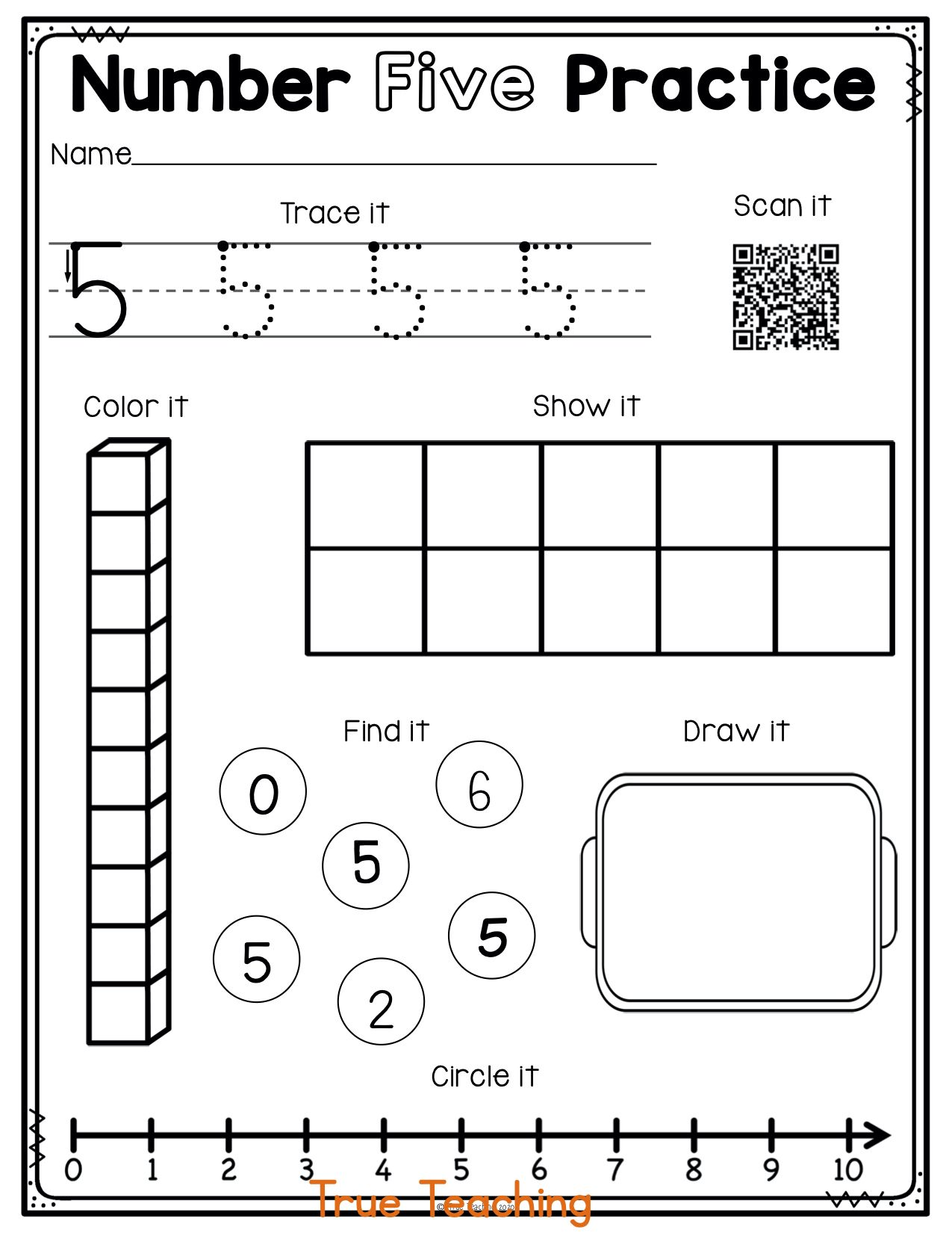 Numbers 0 20 Activity Pages 2 In