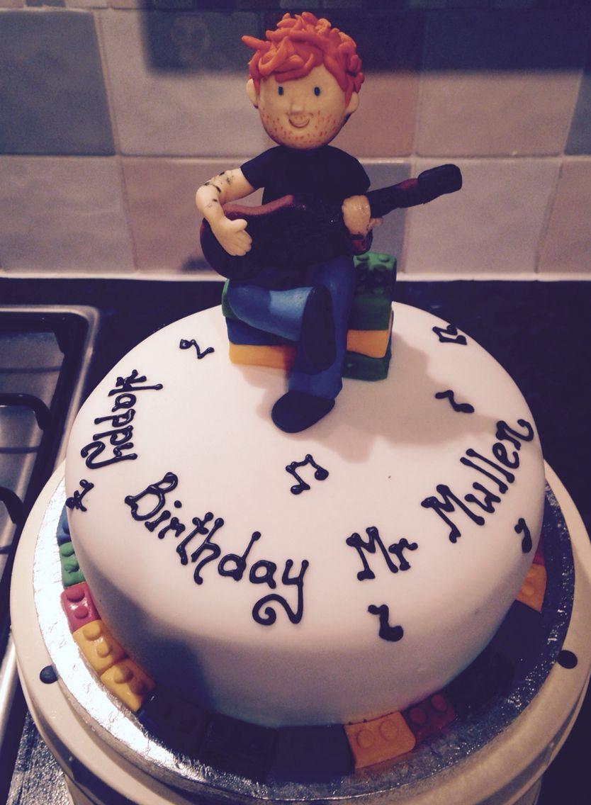 Ed Sheeran Cake Cake Creations Cake