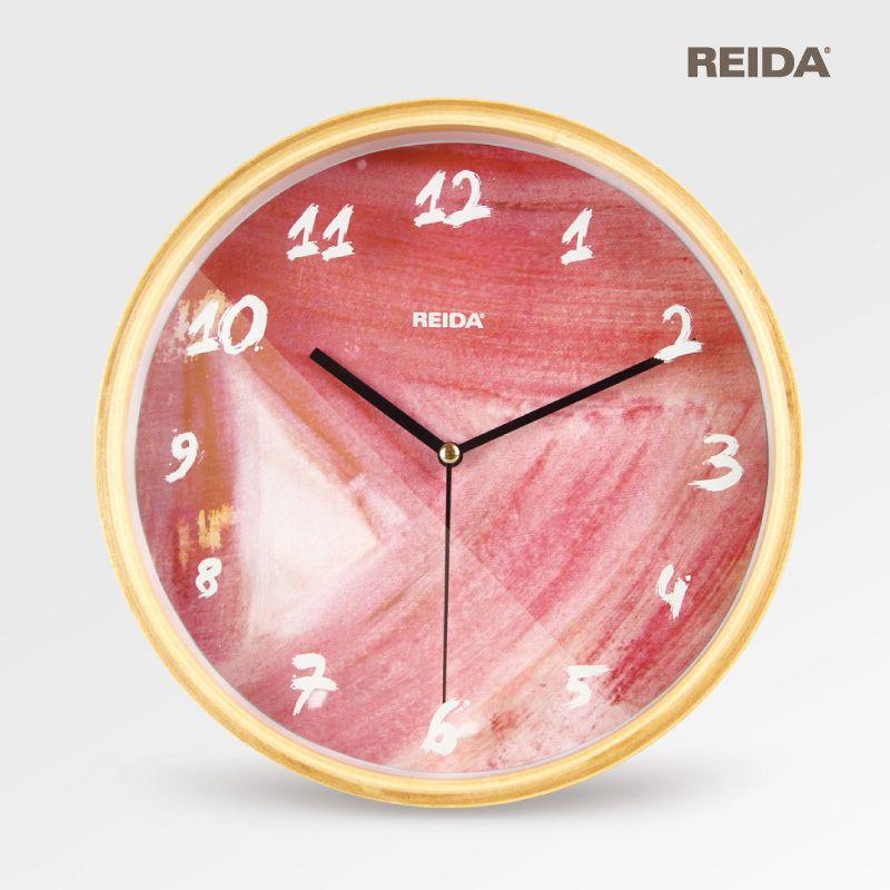 Reida Brand 8 Inch Wall Clock Modern Design Fashion Home Decor Clock Super Quiet Bedroom Quartz Clock With Images Wall Clock Modern Wall Clock Quartz Clock