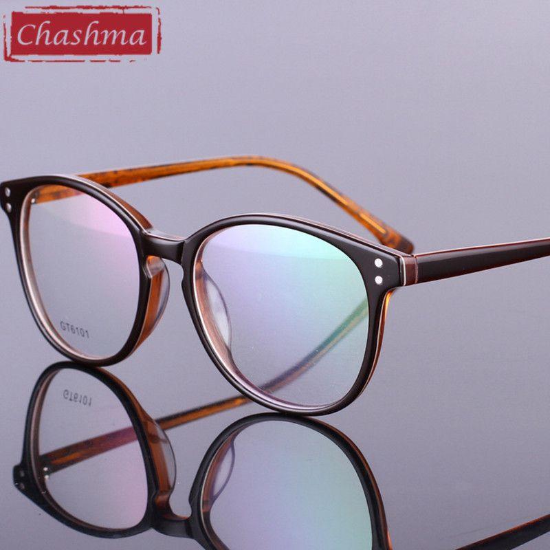 Chashma Super Quality Eye Glasses Acetate Retro Eyeglasses Frames ...