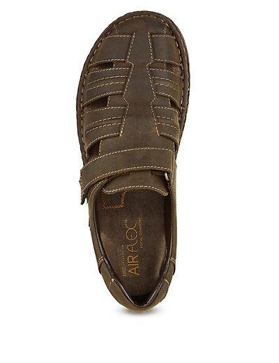 e902bdb170f90 Airflex™ Leather Fisherman Sandals