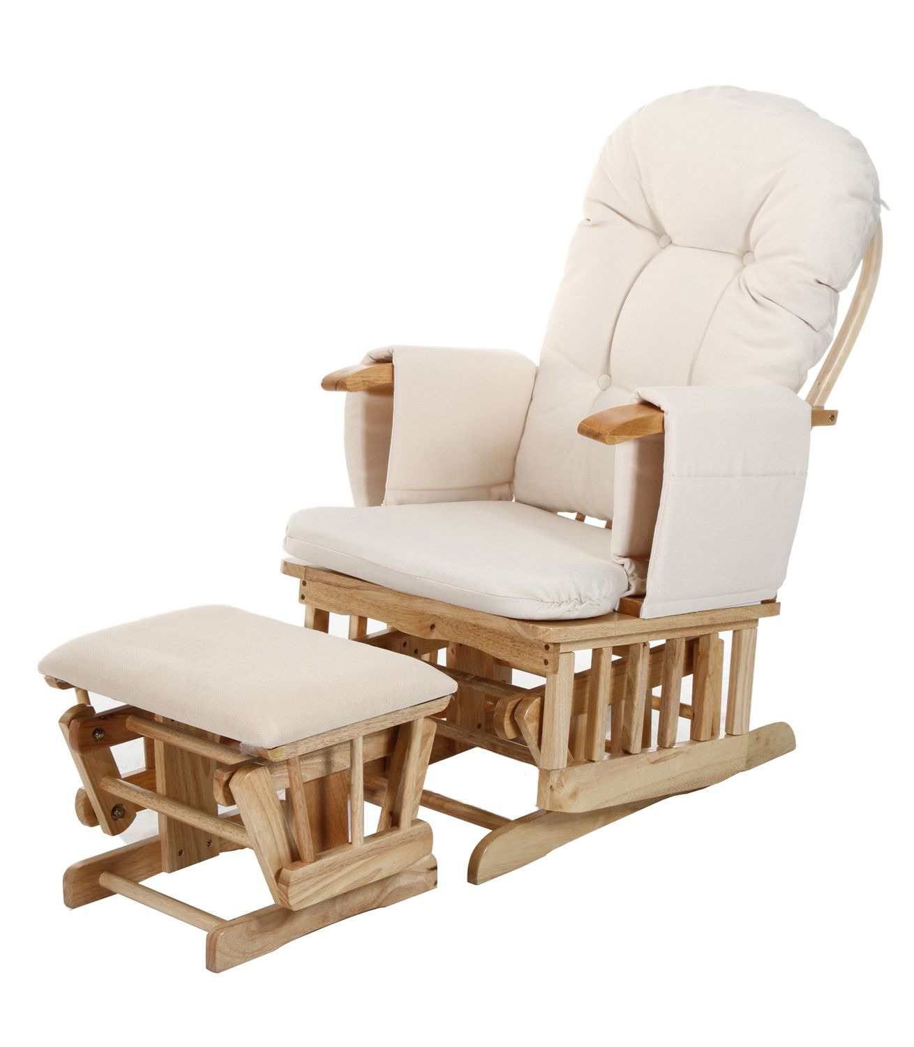 Buy your Baby Weavers Recline Glider & Stool from Kiddicare