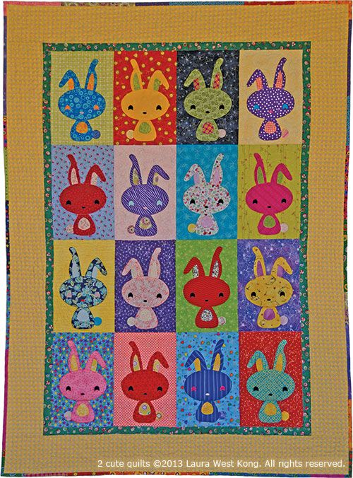 B is for Bunny | Quilts | Pinterest | Bunny, Patterns and Kid quilts : cute quilt - Adamdwight.com