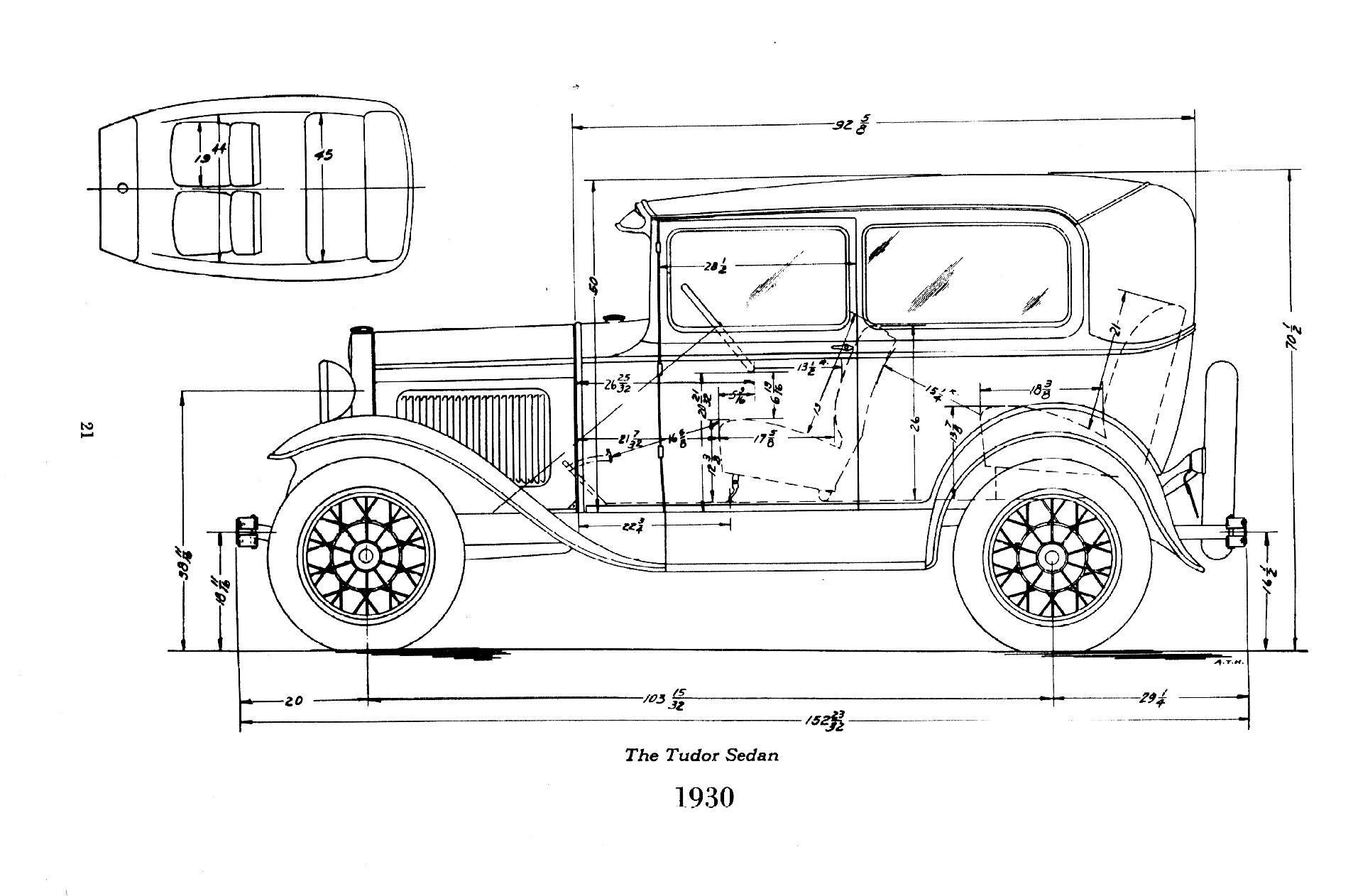 30 31 Tudor Ford Models Ford Roadster Car Model