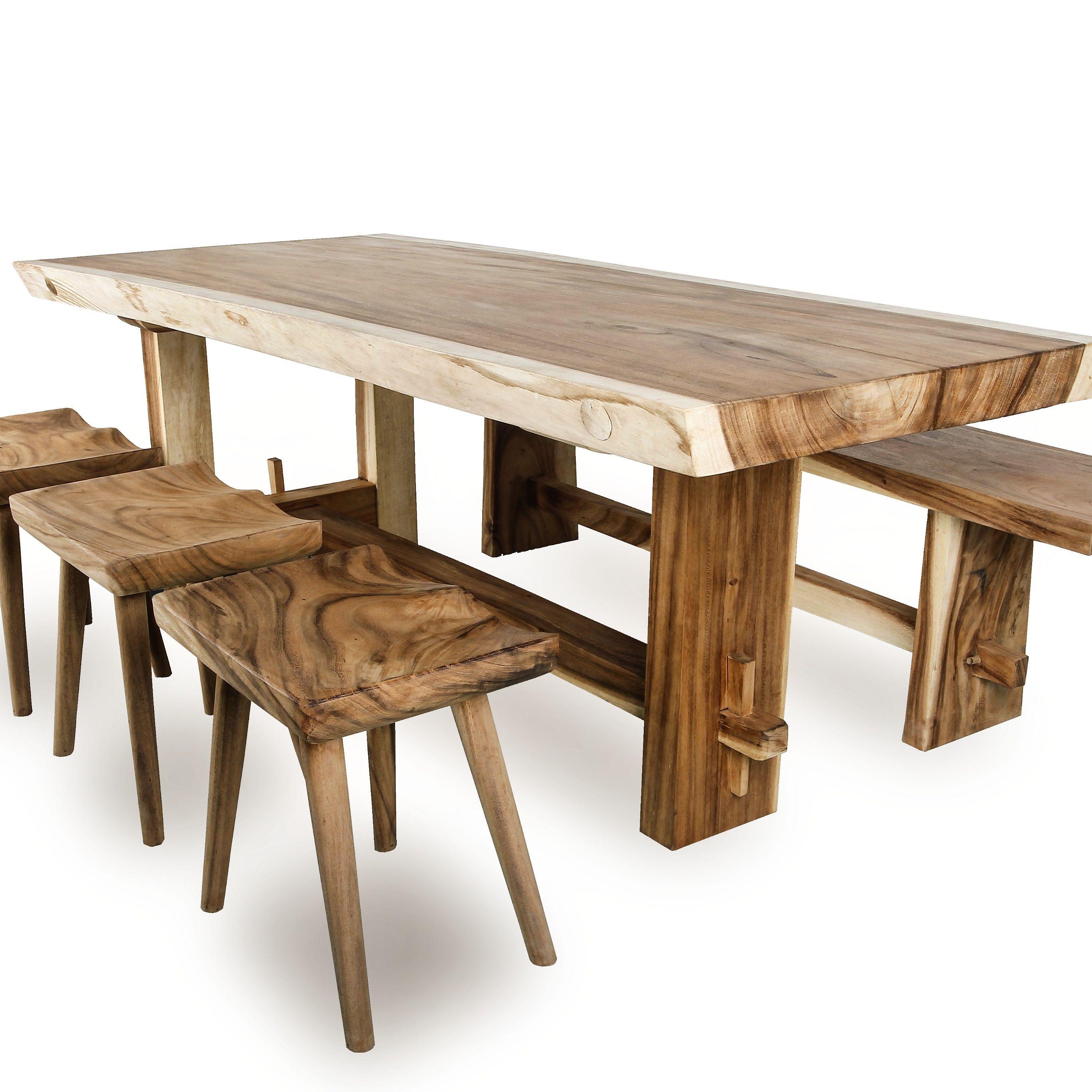 Wir verkaufen baumtisch massivholztisch suar und baumstamm tisch