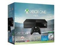 Microsoft Xbox One - Madden NFL 16 Bundle - game console - 1 TB HDD - matte black - Madden NFL 16