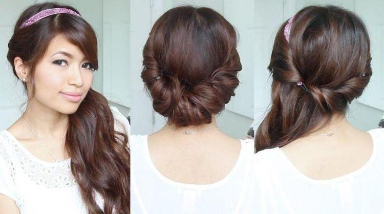Summer Hairstyles With Hairband 33 Ideas For Beautiful Styling Hair Haare Seitlich Eindrehen Haare Hochzeit Kurze Haare Haarband