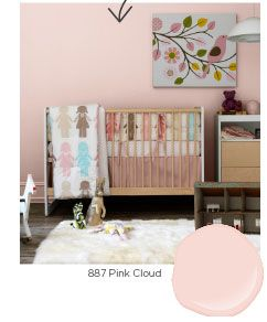 Benjamin Moore Pink Cloud More