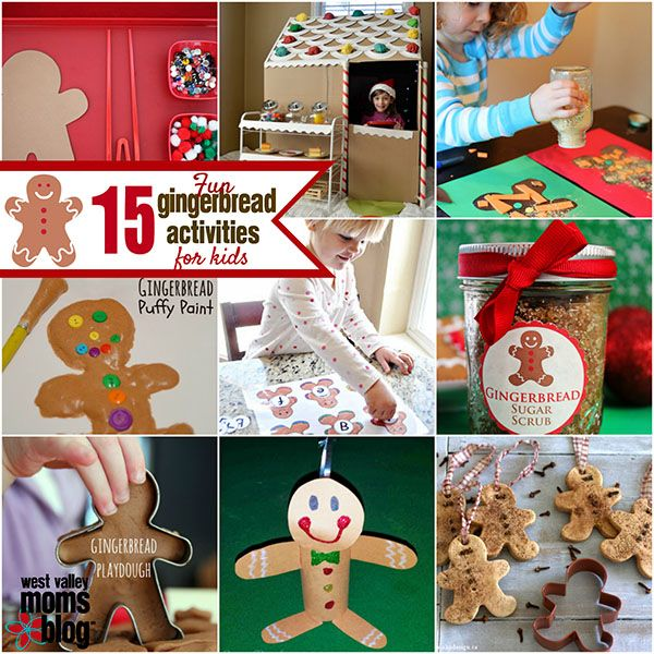 15 gingerbread crafts activities for kids