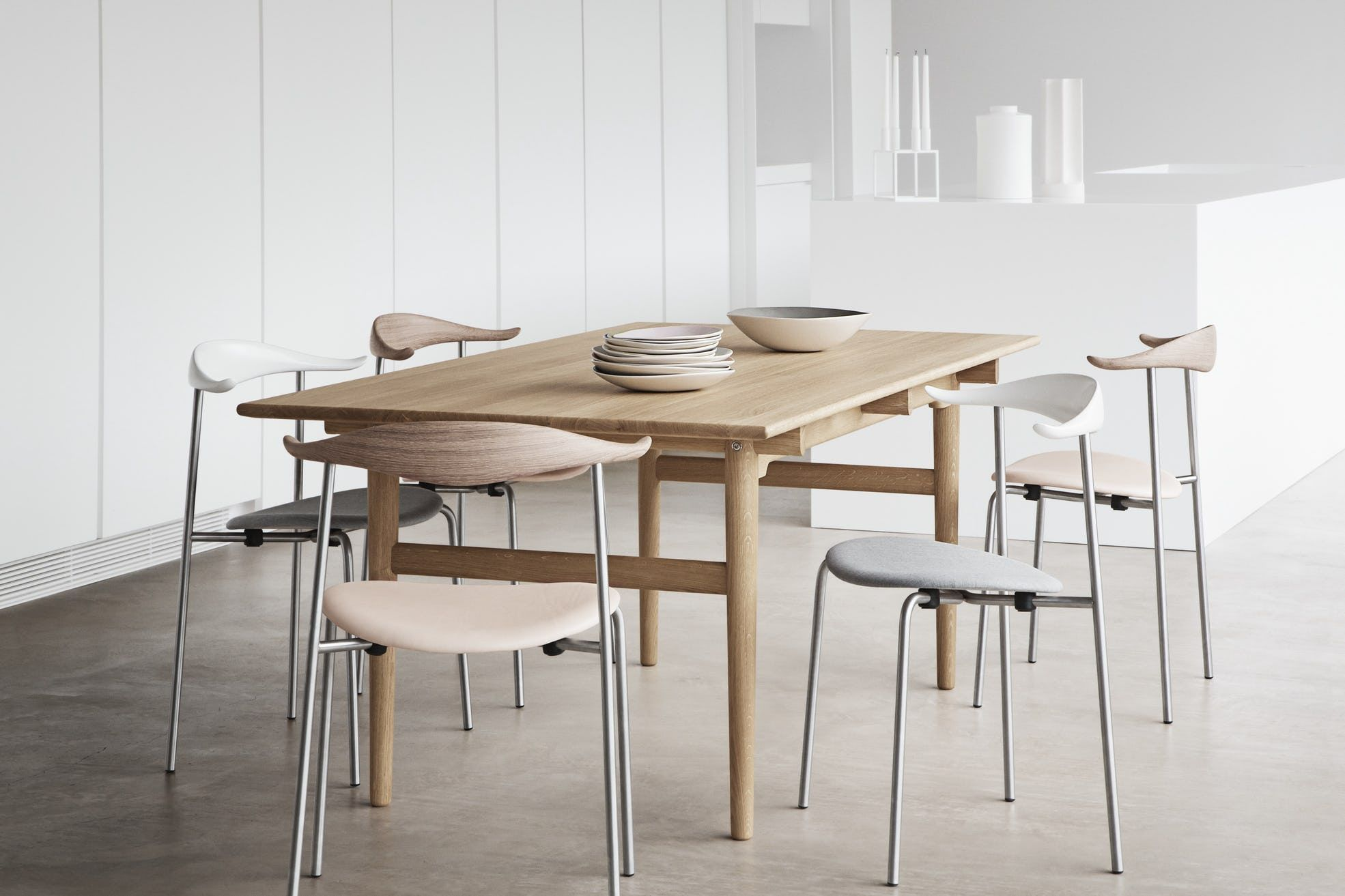 Ch327 Dining Table By Carl Hansen Son Now Available At Haute