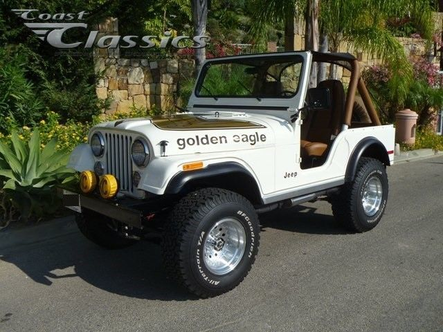 1980 Jeep Cj5 Golden Eagle V8 Limited Edition With Images Jeep