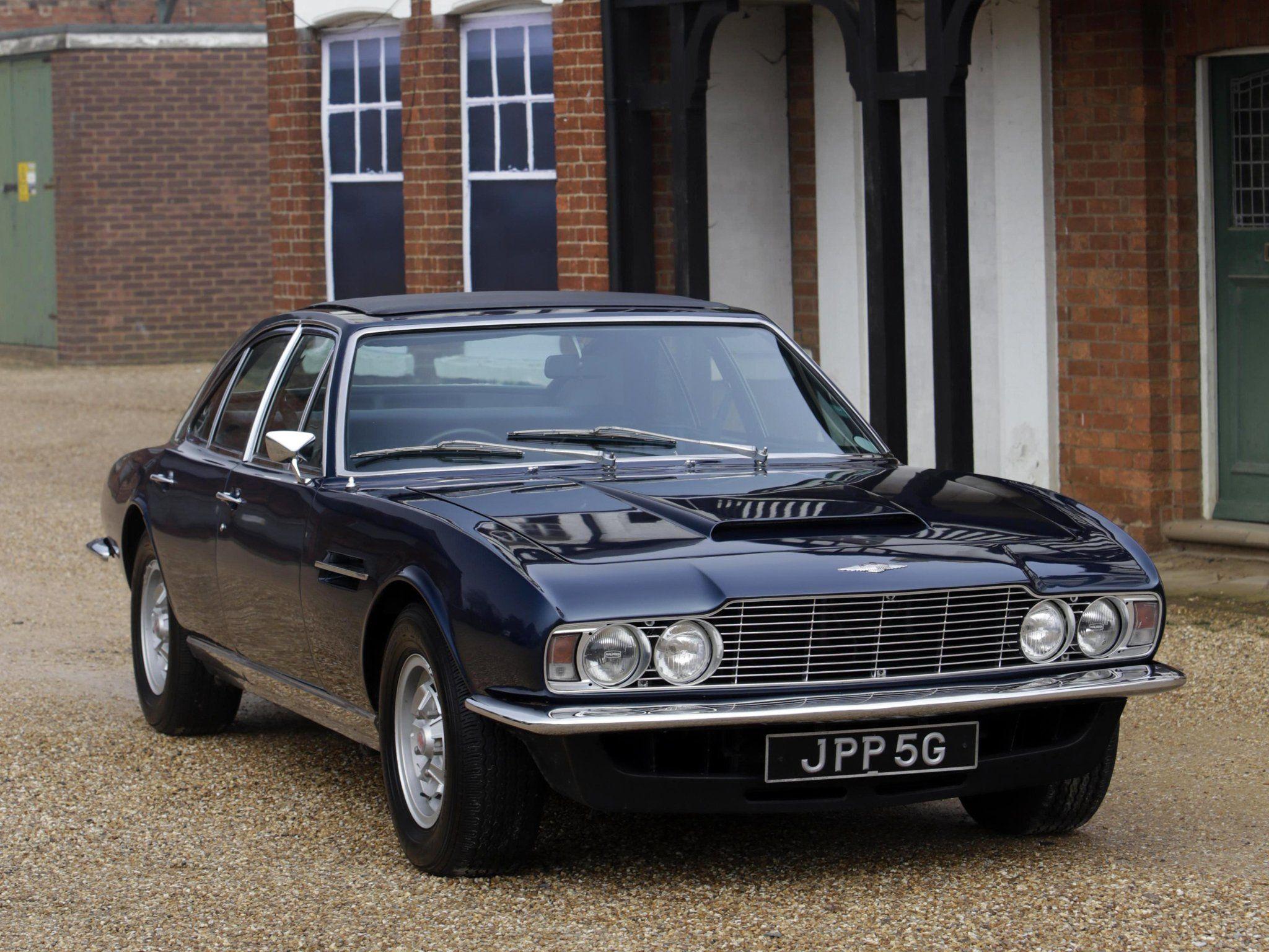1969 Aston Martin Lagonda V 8 Saloon Prototype MP2301 classic e