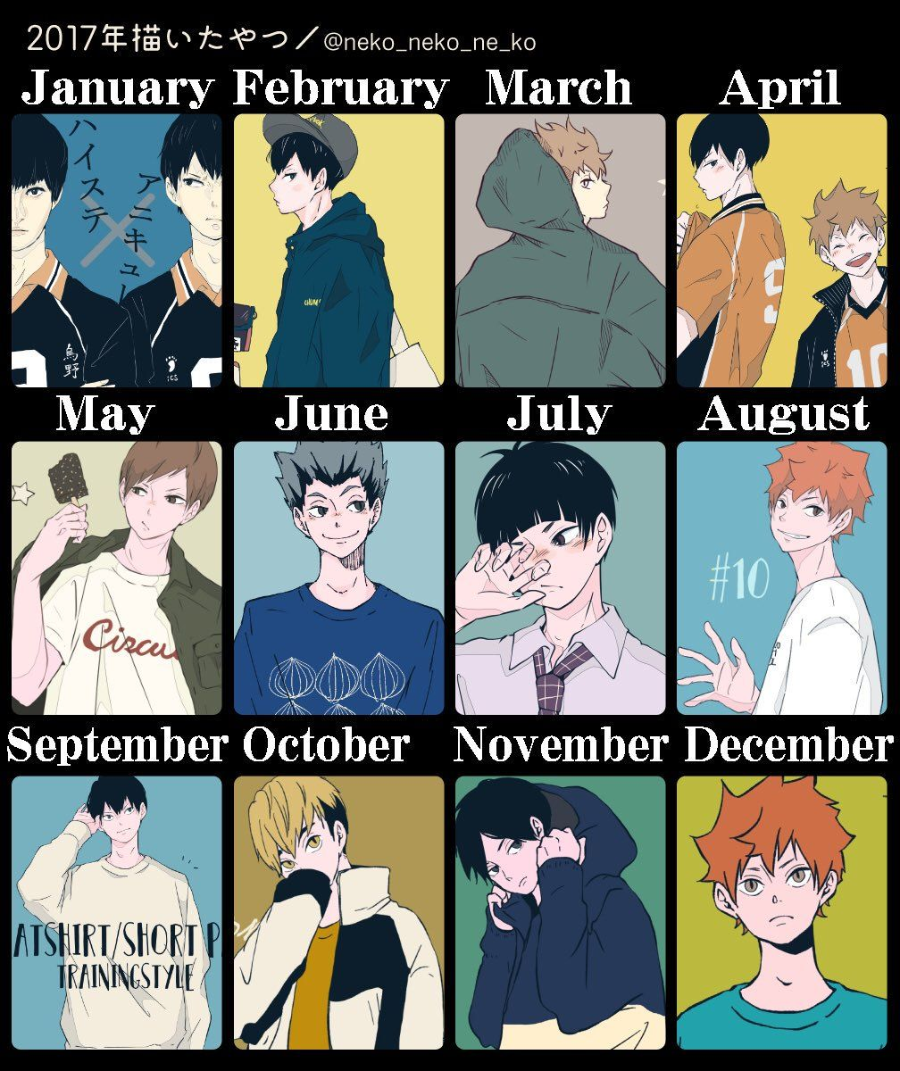 Pin by Suu on ハイキュー!! Haikyuu, Neko, Birthday scenario game