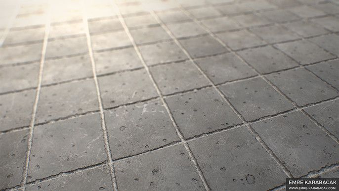 Creating A Concrete Tile Material In Substance Designer Concrete Tiles Concrete Design