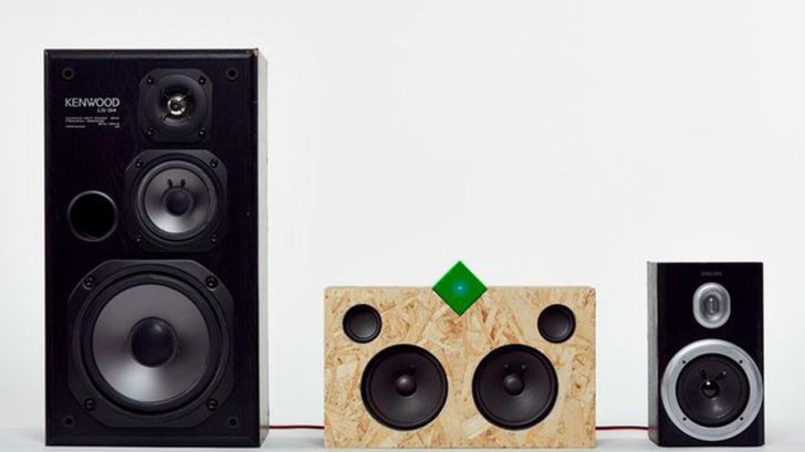The Vamp Stereo repurposes old speakers with great new sound
