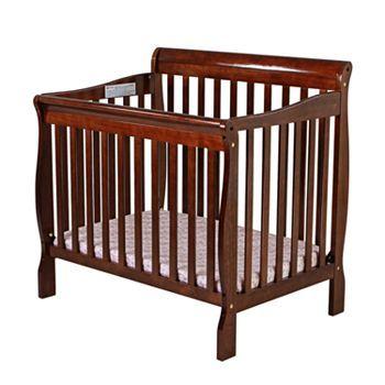 Dream On Me Aden Convertible Mini Crib Mini Crib Convertible Toddler Bed Cribs