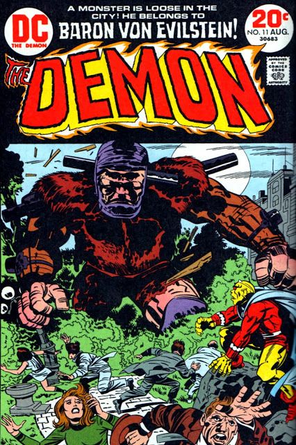 King Kirby'S Demon Cover Gallery - Part Three...