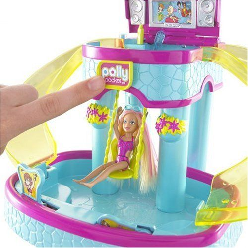 Polly pocket ultimate pool party playset toys for Piscine polly pocket
