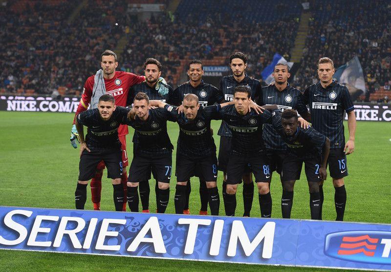 Inter v Roma 14/15 starting line- up