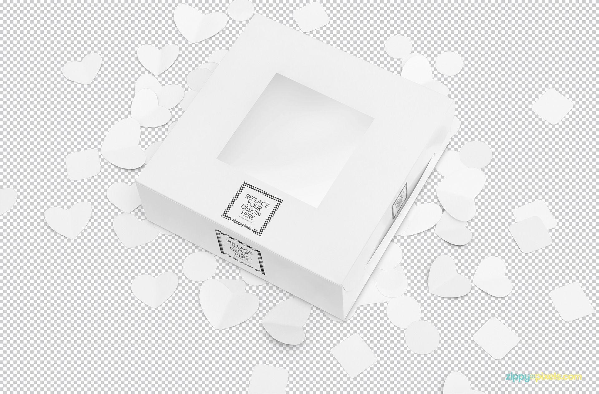 Download Free Lovely Cake Box Mockup Zippypixels Box Mockup Photoshop Mockup Free Box Cake