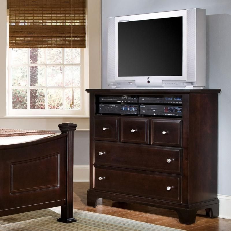 Hamilton Franklin Media Cabinet By Vaughan Bassett At Home Furniture Store Media Cabinet