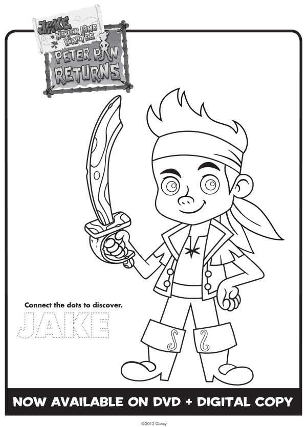 Jake And The Never Land Pirates Coloring Sheets Pirate Coloring Pages Disney Coloring Sheets Coloring Pages