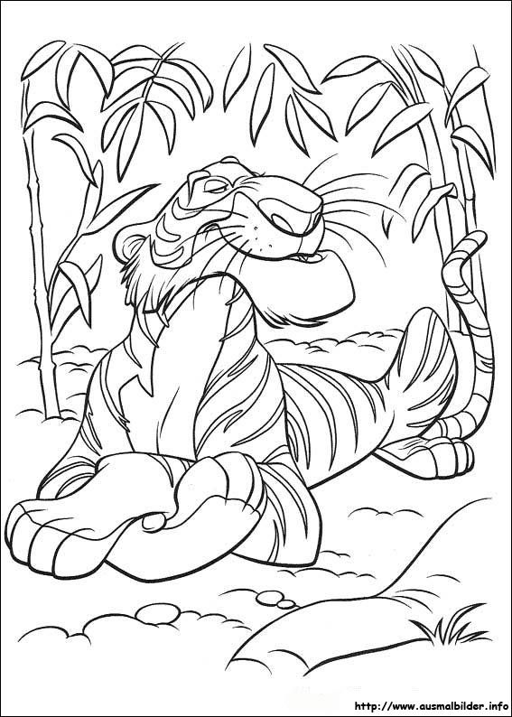 Das Dschungelbuch Malvorlagen Coloring Pictures Animal Coloring Pages Coloring Pages
