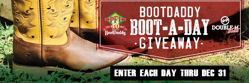 Bootdaddy giveaway