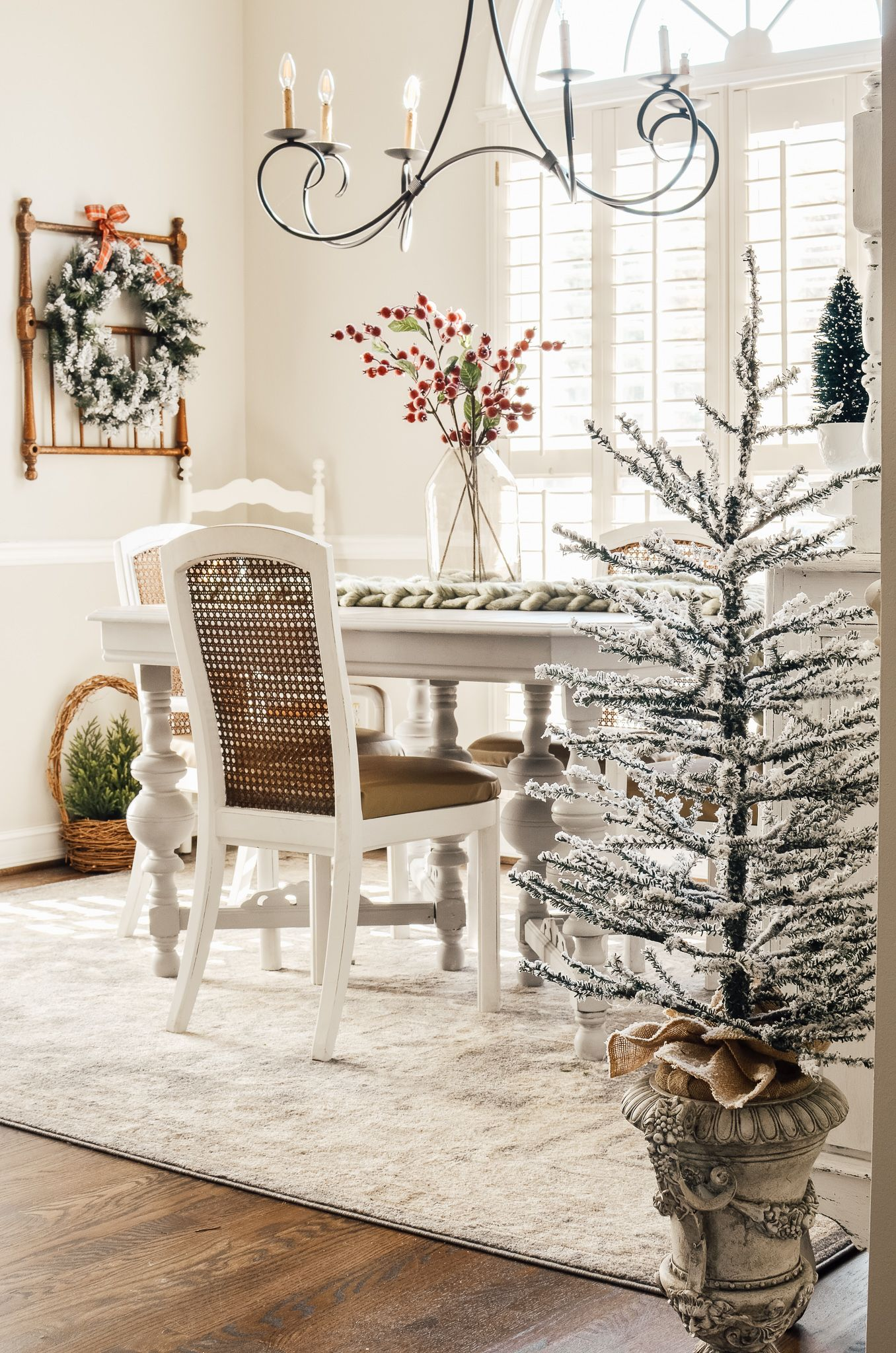 Christmas Breakfast Nook and What I m Thankful For