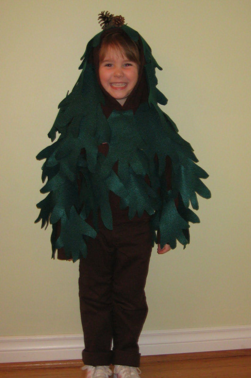 Tree Costumes Plays Catherine' World Halloween
