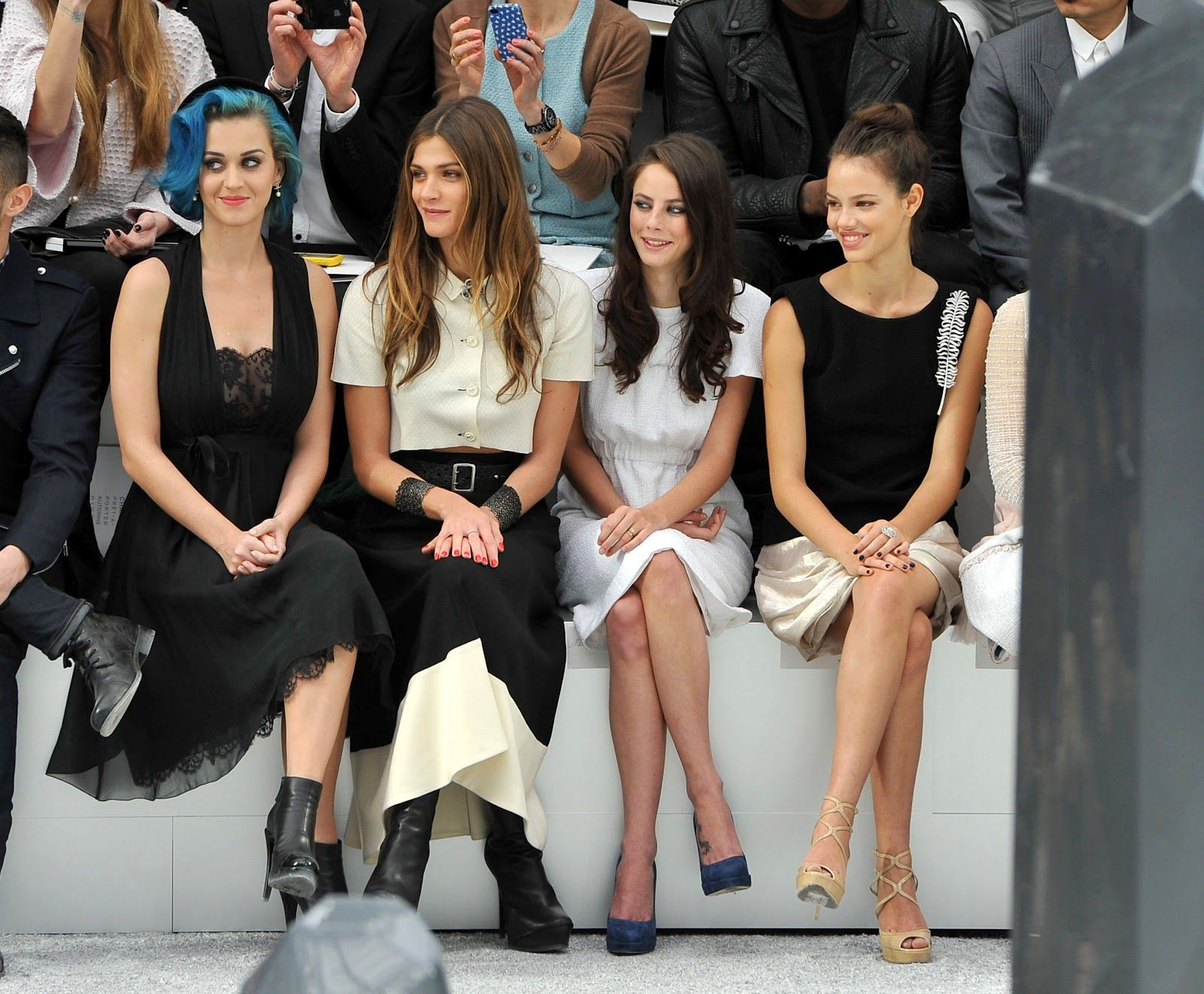 7.3.12FRONT ROW AT CHANEL