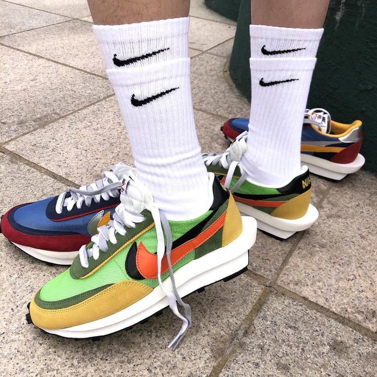 Nike sacai waffle size 8 preowned in