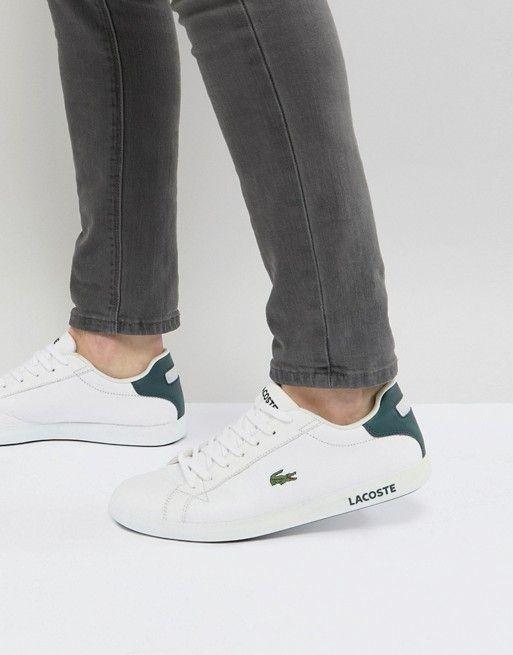 Sneakers men fashion, Lacoste shoes mens