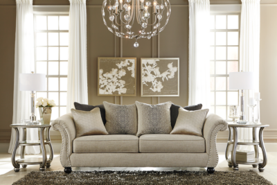 Lemoore Sofa Ashley Glam Living Room Home Decor Pinterest