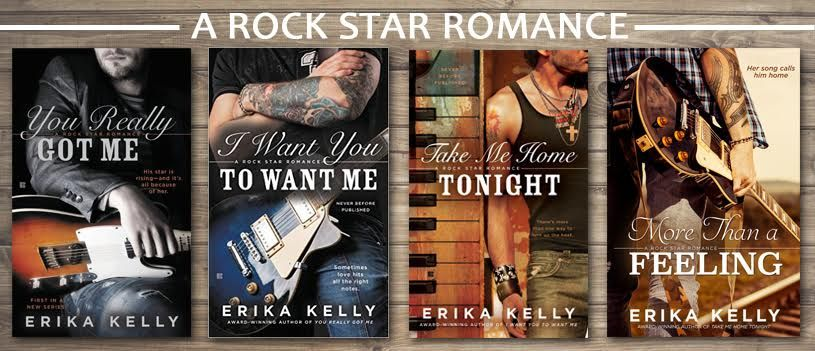 Erika Kelly's Rock Star Romance Series banner