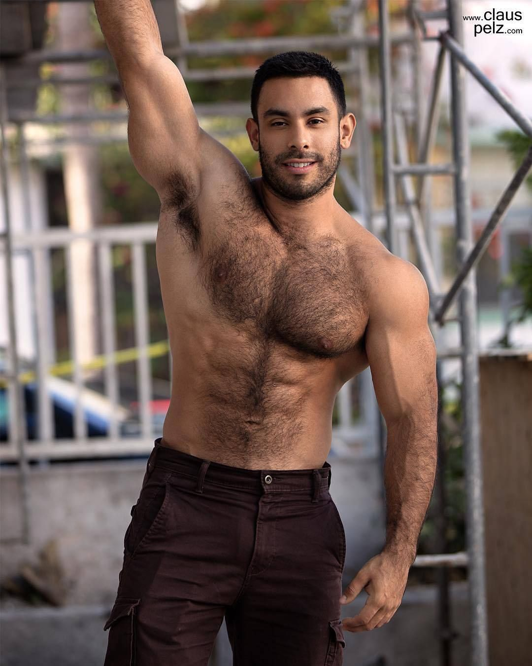 Image result for sexy hairy black  men