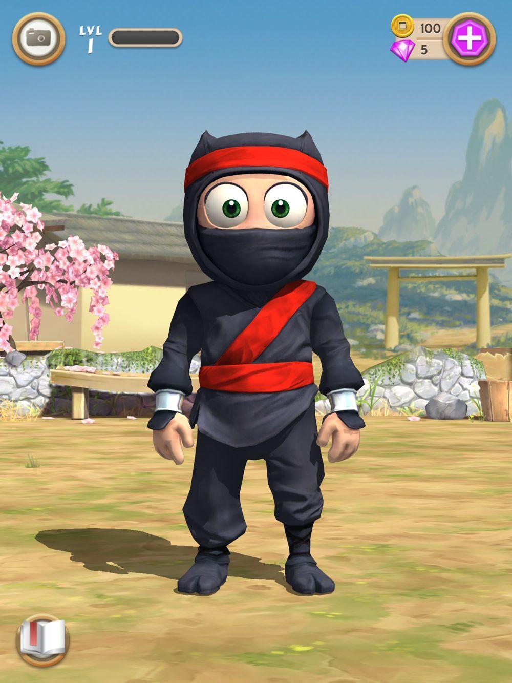 скачать игру clumsy ninja мод денег