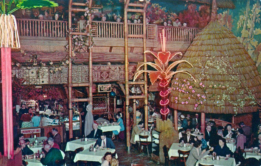 L A S Wildest Cafeteria Served Utopian Fantasy With A Side Of Enchiladas Los Angeles Restaurants Clifton Tiki Room