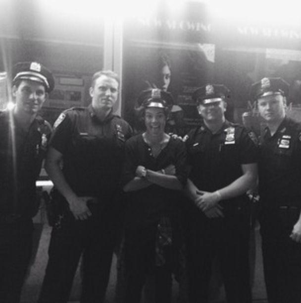 """NYPD are nice""..... Okay Harry."