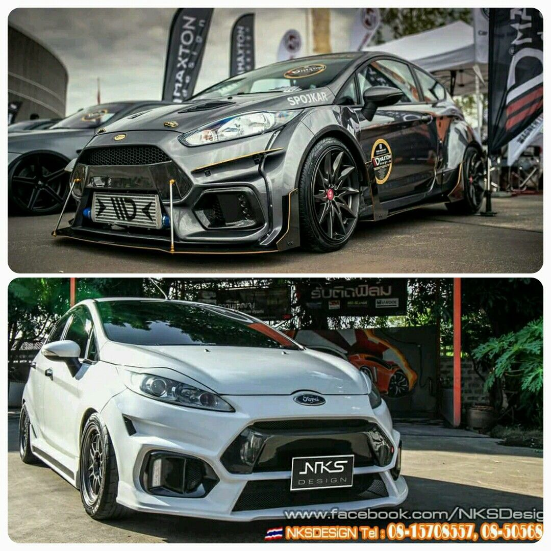 Ford fiesta rs custom body kit by nks design thailand contact nksimportexport