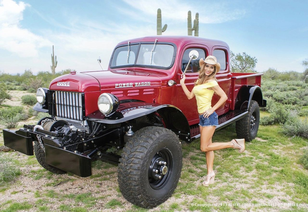 Girls Of Ebay And More 1955 Dodge Power Wagon Crew Cab