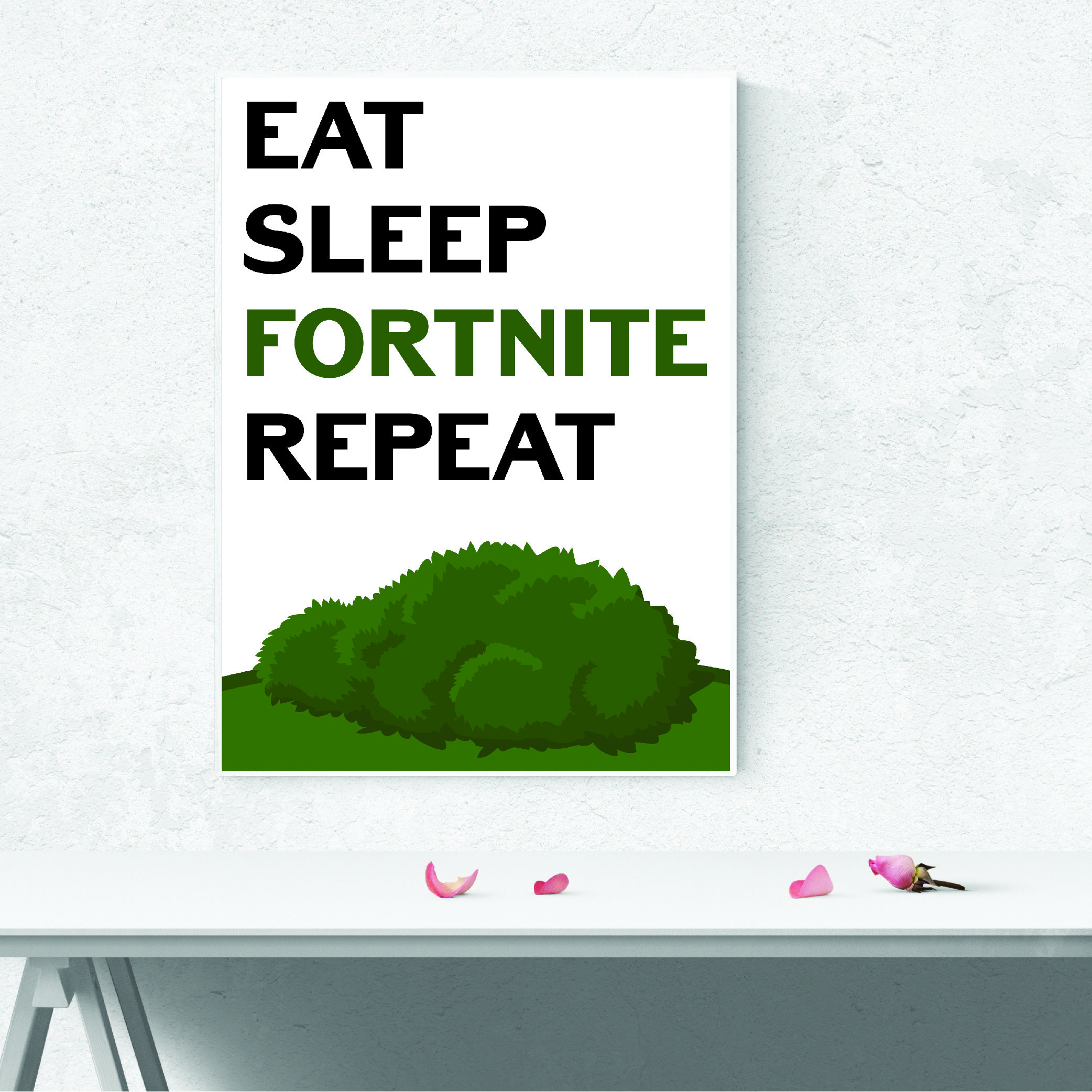 5 Piece Garrison Fortnight Battle Royale Skin Video Games: Details About 1 FORTNITE Poster Vinyl Art Print Battle